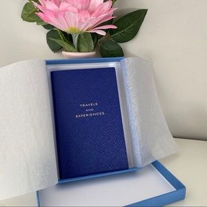 Smythson Travels and Experiences Notebook